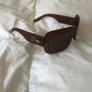 Dior brown sunglasses